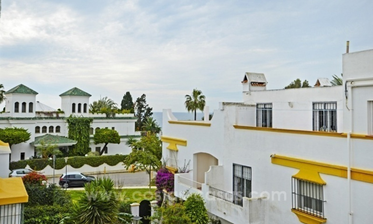 Beachside townhouse te koop op de Golden Mile in Marbella 5