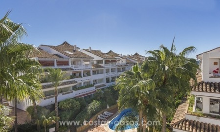 Beachside Penthouse appartement te koop op de Golden Mile in Marbella