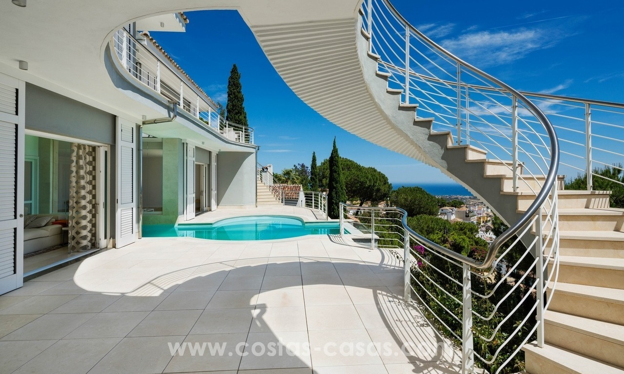 Contemporaine design Villa te koop in El Madroñal te Benahavis - Marbella 4