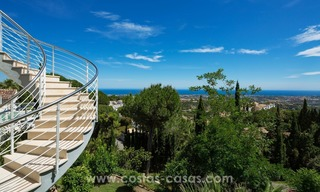 Contemporaine design Villa te koop in El Madroñal te Benahavis - Marbella 5