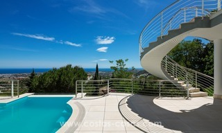 Contemporaine design Villa te koop in El Madroñal te Benahavis - Marbella 6