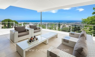 Contemporaine design Villa te koop in El Madroñal te Benahavis - Marbella 11