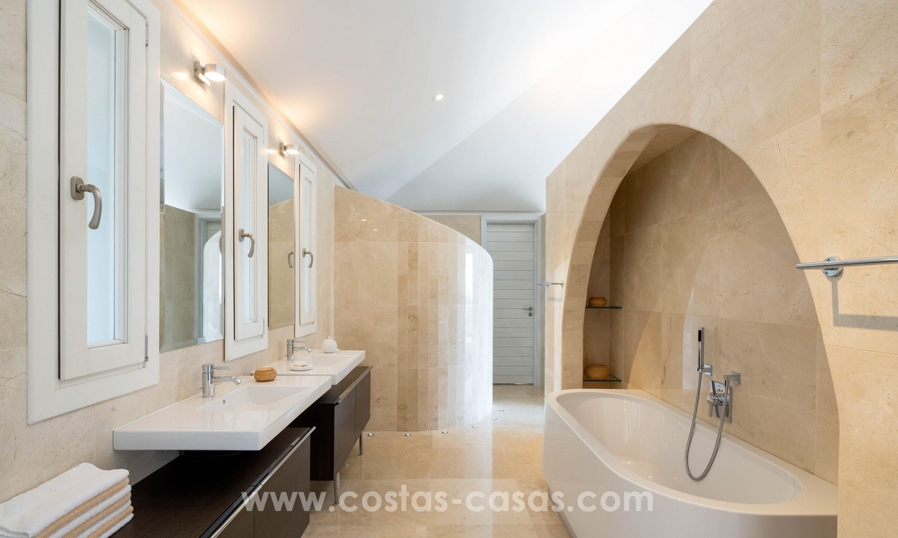 Contemporaine design Villa te koop in El Madroñal te Benahavis - Marbella 19
