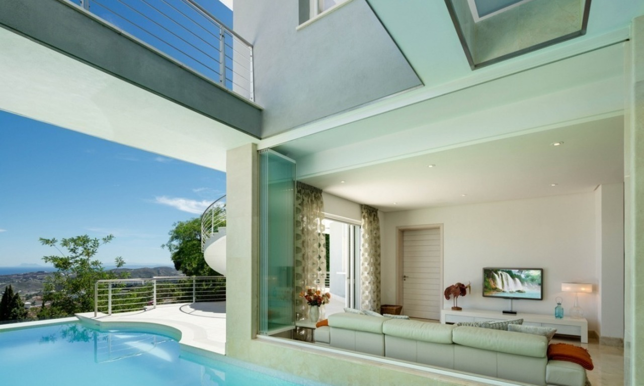 Contemporaine design Villa te koop in El Madroñal te Benahavis - Marbella 20