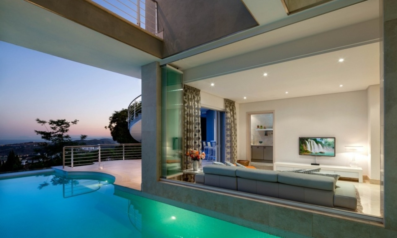 Contemporaine design Villa te koop in El Madroñal te Benahavis - Marbella 21