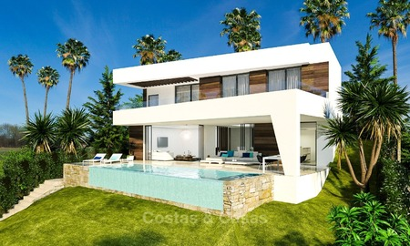 Gated Community met 25 Moderne Villa's te koop nabij een Golf Resort aan de New Golden Mile, Marbella – Estepona 1794