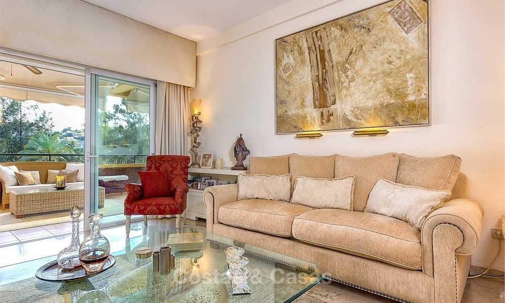 Eerstelijn Golf Luxe Appartement te koop in een Gated Community in Rio Real, Marbella 1858