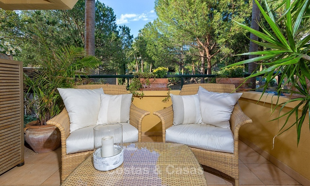 Eerstelijn Golf Luxe Appartement te koop in een Gated Community in Rio Real, Marbella 1869