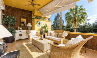 Eerstelijn Golf Luxe Appartement te koop in een Gated Community in Rio Real, Marbella 1883