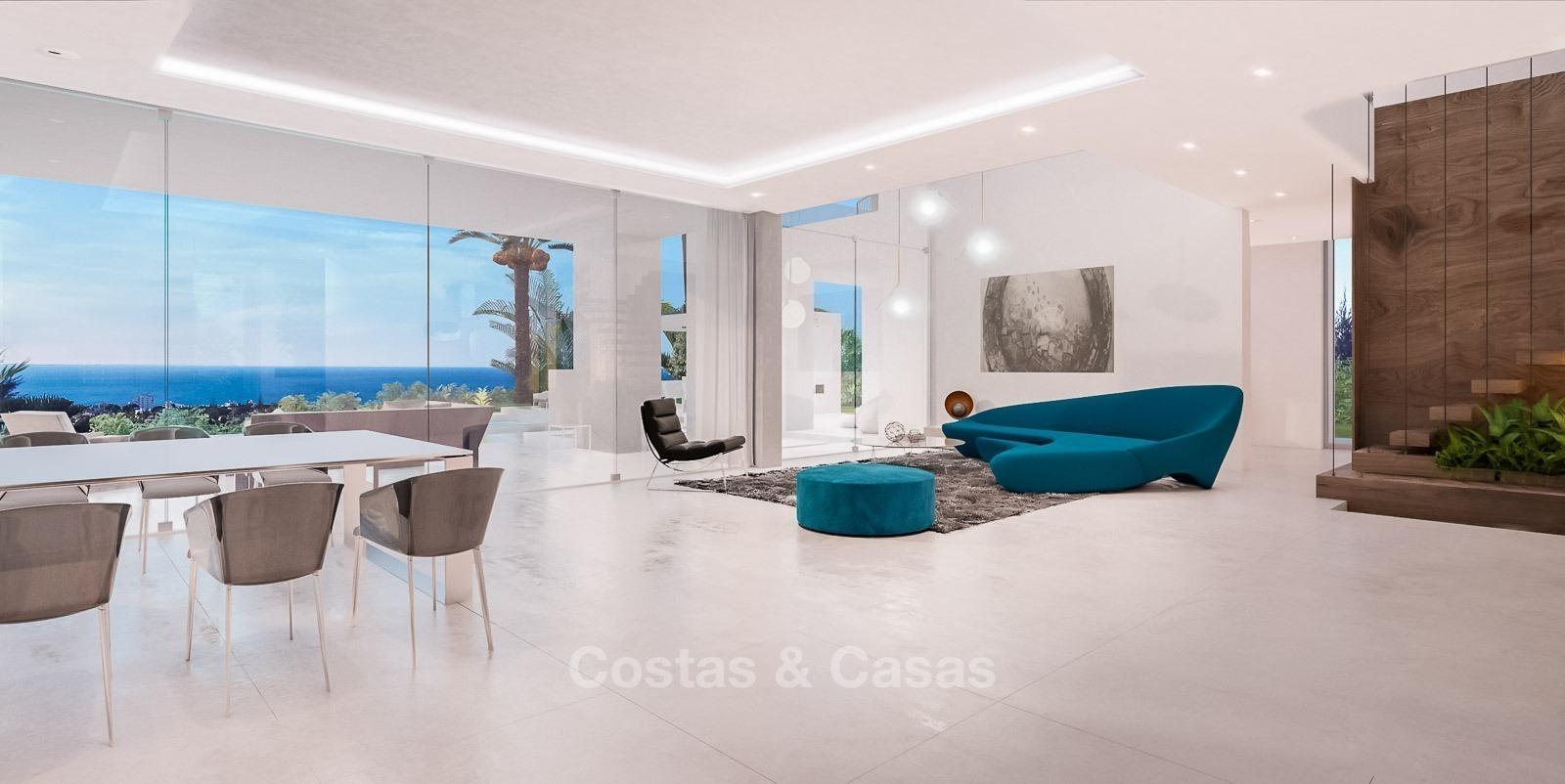 Moderne eigentijdse designer villa s te koop in mijas costa del sol
