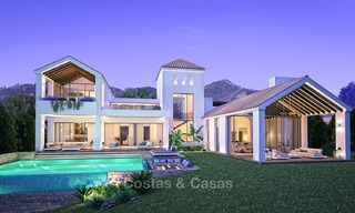 Gated Golf Resort, Frontline Golf Villa's te koop aan de New Golden Mile, Marbella - Estepona 3285