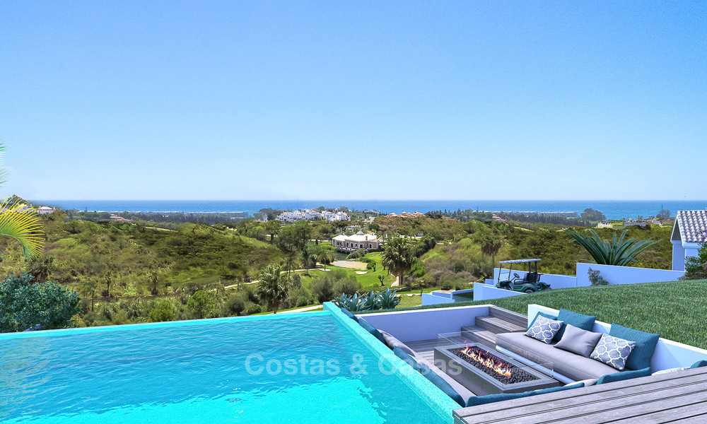 Gated Golf Resort, Frontline Golf Villa's te koop aan de New Golden Mile, Marbella - Estepona 3286