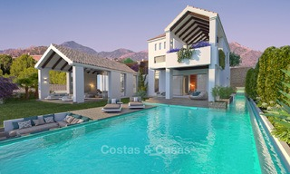 Gated Golf Resort, Frontline Golf Villa's te koop aan de New Golden Mile, Marbella - Estepona 3278