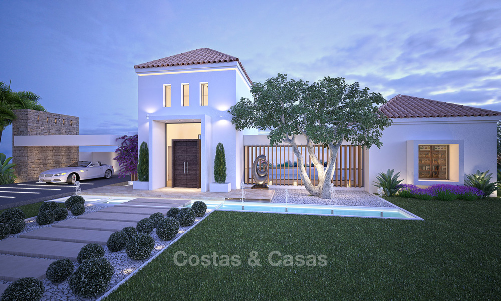 Gated Golf Resort, Frontline Golf Villa's te koop aan de New Golden Mile, Marbella - Estepona 3277