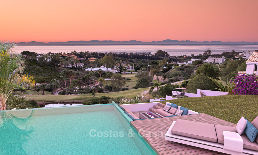 Gated Golf Resort, Frontline Golf Villa's te koop aan de New Golden Mile, Marbella - Estepona 3279
