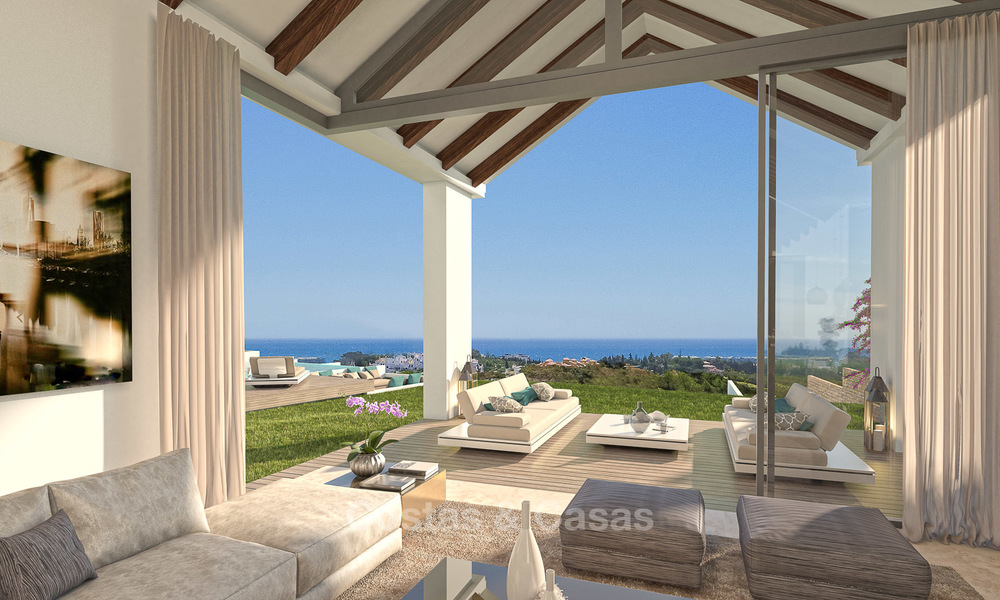 Gated Golf Resort, Frontline Golf Villa's te koop aan de New Golden Mile, Marbella - Estepona 3282
