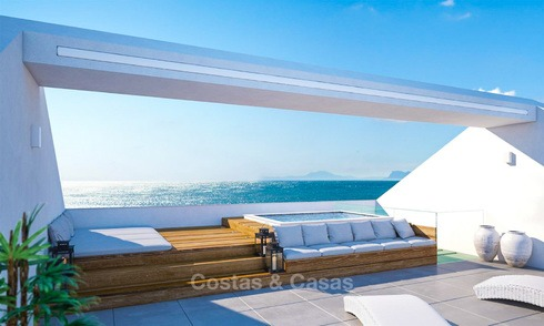 Ultramoderne design villa direct aan het strand te koop, New Golden Mile, Marbella - Estepona 6201