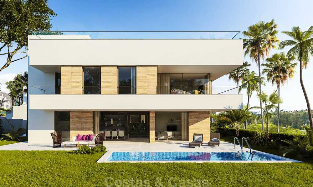 Moderne, luchtige en comfortabele luxe villa's te koop in een top golf resort, New Golden Mile, Marbella - Estepona 6658