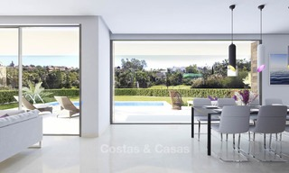 Moderne, luchtige en comfortabele luxe villa's te koop in een top golf resort, New Golden Mile, Marbella - Estepona 6661