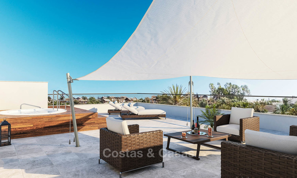 Moderne, luchtige en comfortabele luxe villa's te koop in een top golf resort, New Golden Mile, Marbella - Estepona 6666